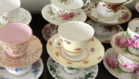 Estate Clearing - all those china tea cups